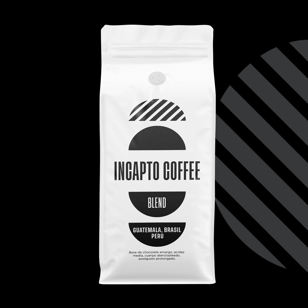 Incapto Coffee Blend Guatemala, Brasil y Perú