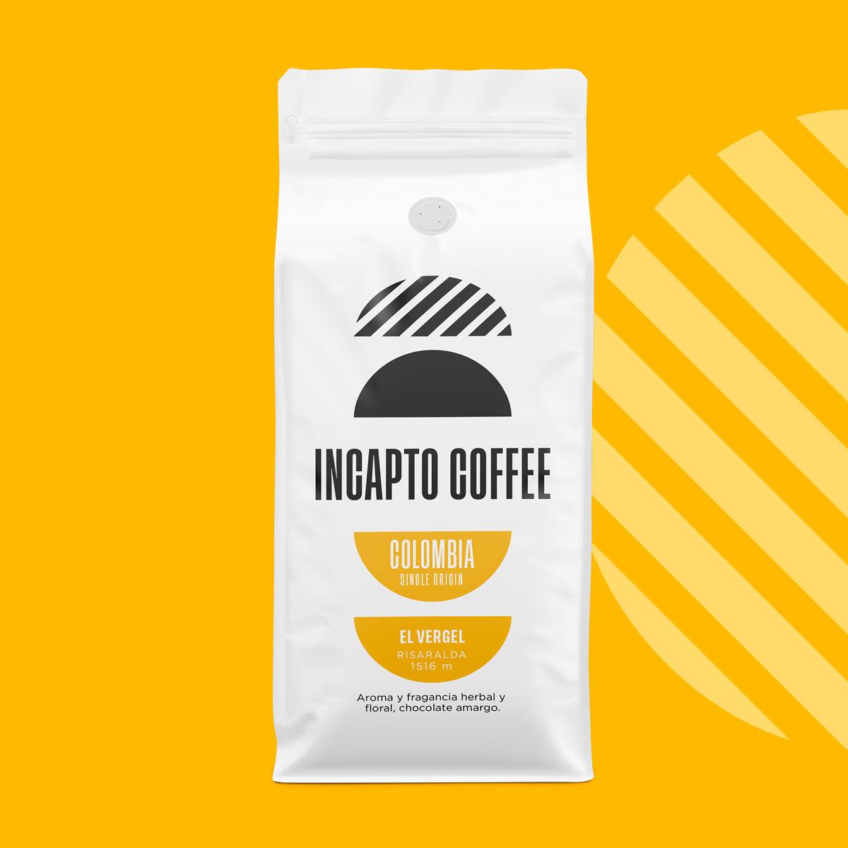 Incapto Coffee Colombia El Vergel Risaralda