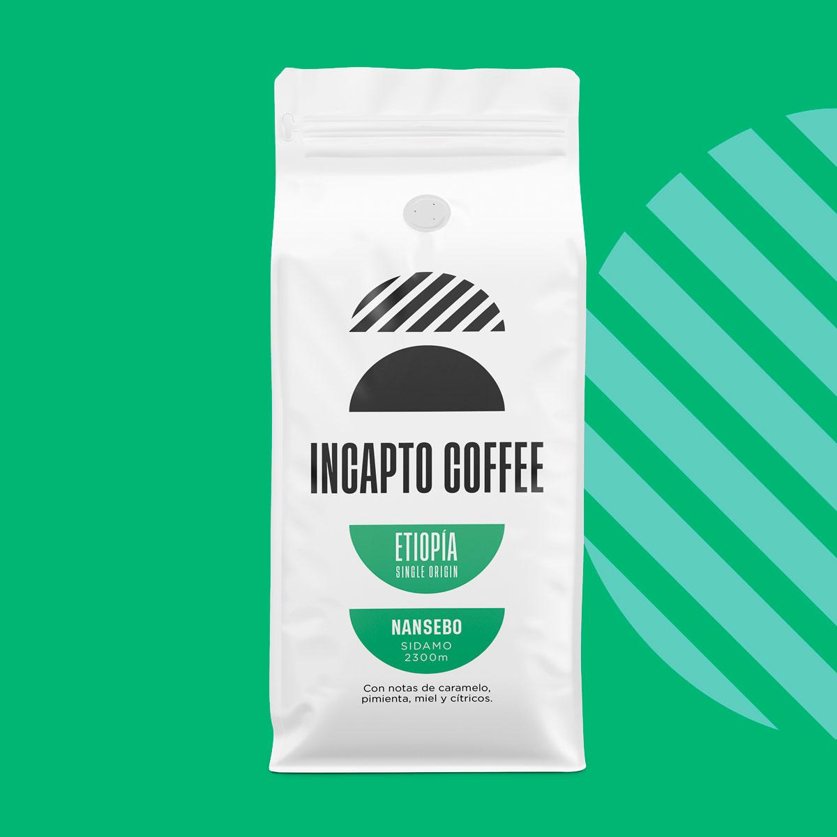 Incapto Coffee Etiopía Sidamo Nansebo