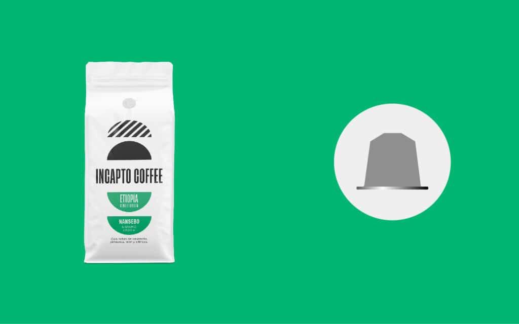 Equilavencia cápsulas café de Etiopía