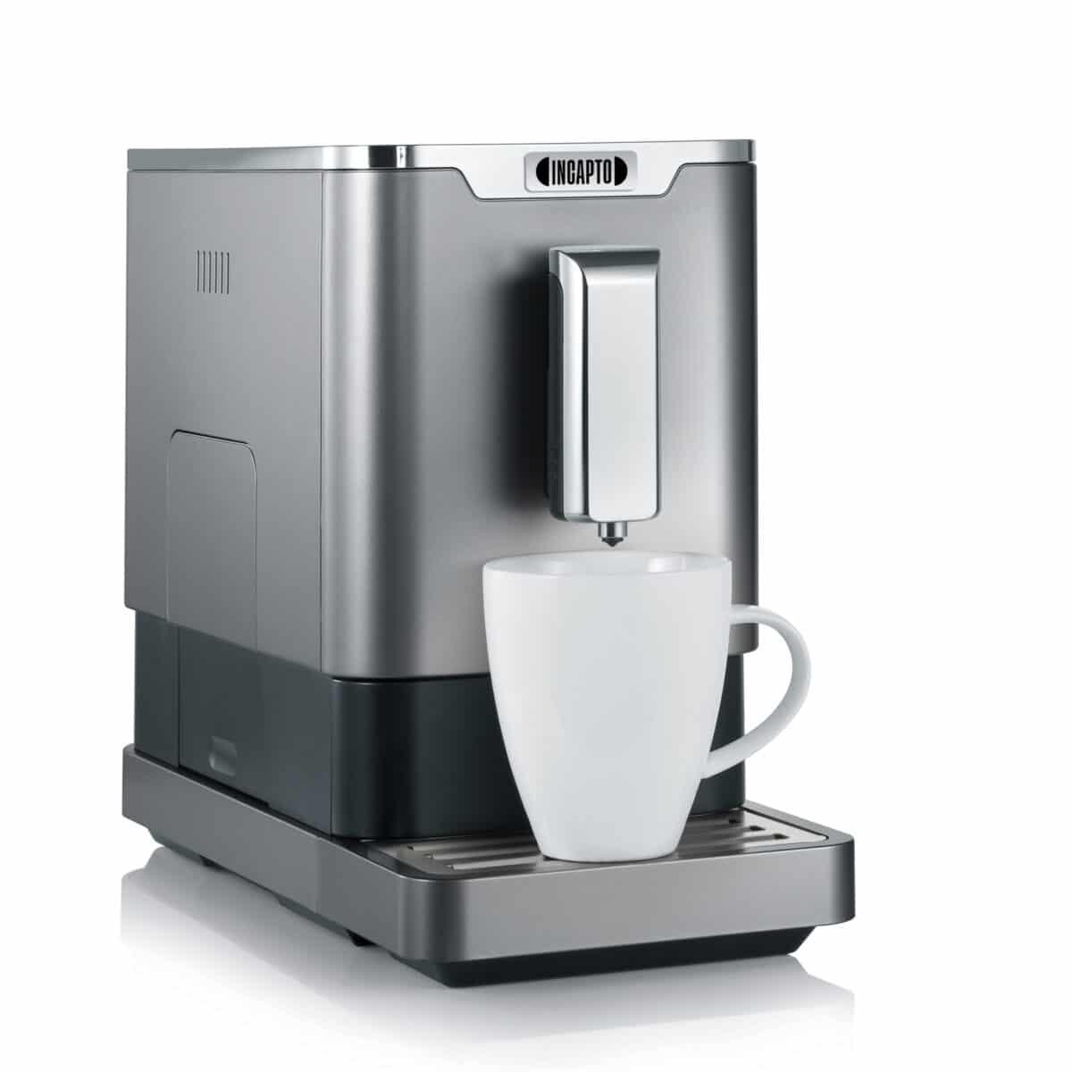 cafetera modelo gris