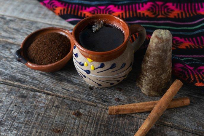 Receta del café de olla